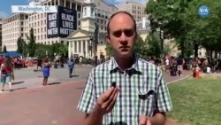Washington'da Protestolar Barışçı Bir Şekilde Devam Ediyor