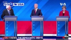 VOA60 America - U.S. Democrats held their third presidential primary debate Thursday in Houston, Texas