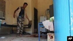 خانه سالمندان در عدن پس از حمله