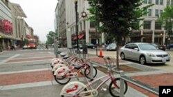 Bicikli na posudbu u Washingtonu