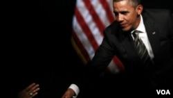 """El presidente Barack Obama dijo que """"tonos nos beneficiamos al recurrir a nuestro creador""""."""