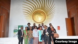 Representatives of Youth Count International at The AUC headquarters