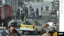 ۳۶ تن در انفجار یک بمب اتومبیلی در افغانستان جان باختند
