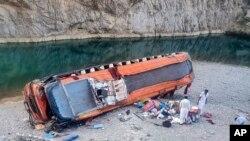 Pakistan Bus Accident Balochistan Khuzdar