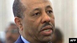 Liên minh Hồi giáo không công nhận Thủ tướng al-Thani (trong hình) mà ủng hộ cho chính phủ riêng của họ ở Tripoli tự xưng là Chính phủ Cứu quốc.