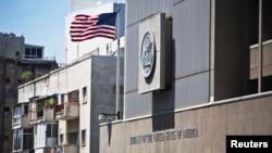 이스라엘 텔아비브 주재 미국 대사관 (자료사진)