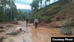 Les inondations au Rwanda.