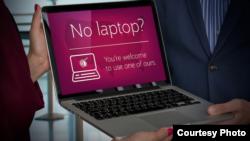 La compagnie aérienne Qatar Airways prête un ordinateur portable à tous les passagers de classe Affaires pour minimiser l'impact de l'interdiction des appareils électroniques en cabine dans ses avions volant vers les Etats-Unis.