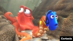The audience gathered to watch Finding Dory at a theater in California was surprised at the preview it saw for another movie.