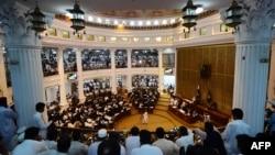 صوبائی اسمبلی کے اجلاس کا ایک منظر