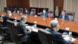 美卫生部高层与台湾行政首长对话:强力推动台湾参与本届世卫大会
