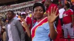 CAN Mashabiki wa Jamhuri ya Kidemokrasia ya Kongo washerehekea ushindi wa timu yao