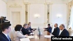 ABŞ-ın xüsusi elçisi İlham Əliyevin qəbulunda