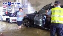 Hàng ngàn người sơ tán vì mưa lớn nhiều ngày ở TQ