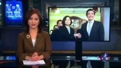 VOA连线:马英九蔡英文会晤,未触及两岸关系