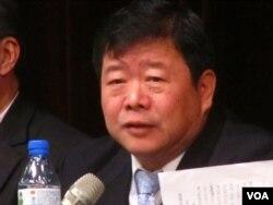孙亚夫: 两岸关系研究中心主任,国台办副主任(美国之音张佩芝拍摄)