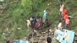 印度發生巴士意外事故﹐40人死亡
