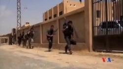 2014-10-21 美國之音視頻新聞: 聯軍週二空襲科巴尼地區伊斯蘭國目標