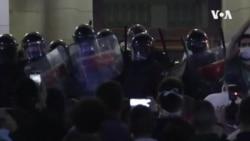 Policijska brutalnost na protestima u Srbiji