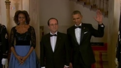 The Stars were Out at the White House for the French President