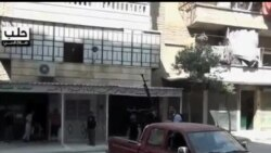 2012-07-29 美國之音視頻新聞: 敘利亞軍隊星期日繼續攻擊阿勒頗
