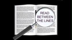 Thành ngữ tiếng Anh thông dụng: Read between the lines (VOA)