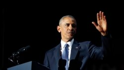 U.S. President Obama Delivers Farewell Speech From Chicago