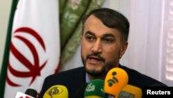 호세인 아미르 압돌라히안 이란 외무차관. (자료사진)