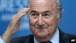 L'ancien président de la Fifa Sepp Blatter à Zurich, Suisse, le 1 juin 2011.