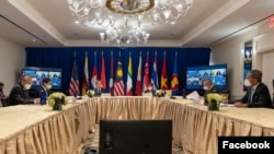 Secretary of State Antony J. Blinken met with foreign ministers of ASEAN nations