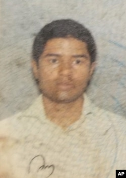 Akayed Ullah, the suspect in the explosion near New York's Times Square on Dec. 11, 2017.