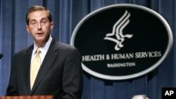 Alex Azar, alors secrétaire adjoint de la Santé et des Services sociaux, à Washington le 8 juin 2006.