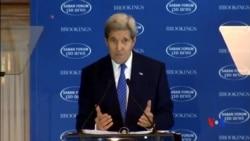 2015-12-06 美國之音視頻新聞: 克里警告以色列一國論不能解決問題