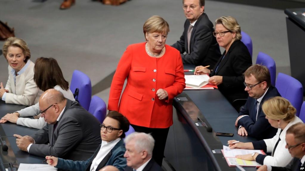 Канцлер Германии Ангела Меркель (архивное фото)