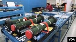 """""""ჯაველინებს"""" ამერიკული Raytheon/Lockheed Martin Javelin Joint Venture აწარმოებს"""