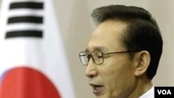 Presiden Korea Selatan Lee Myung Bak (foto: dok) menyerukan kepada Korea Utara untuk menyukseskan dialog militer tingkat tinggi antarkedua Korea.