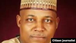 Gwamnan jihar Borno Kashim Shettima