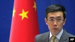 중국 외교부 류 웨이민 대변인 (자료사진).