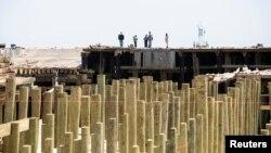 La reconstrucción de la costa de Nueva Jersey tras el huracán Sandy ha generado un nuevo debate sobre el aumento del nivel del mar.