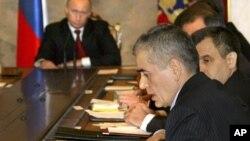 Геннадий Онищенко (на переднем плане)