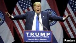 دونالد ترامپ در کانزاس سیتی
