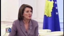 Intervistë me Presidenten Atifete Jahjaga