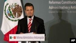 El presidente electo de México, Enrique Peña Nieto, realiza una gira por Estados Unidos y Canadá a partir de este martes.