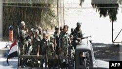 Quân đội Syria rút khỏi ngoại ô Damascus, Syria, 14/8/2011