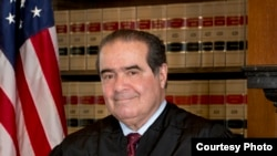Portrait officiel de juge Antonin Scalia