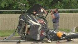 Хеликоптер се сруши кај Чикаго. Нема жртви