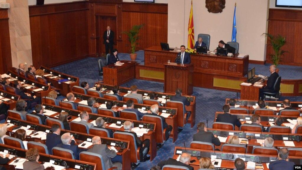 Maqedoni: Zoran Zaev paraqet planet për programin e qeverisë së tij