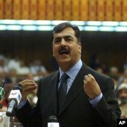 وزیر اعظم یوسف رضا گیلانی