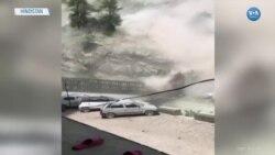 Yamaçtan Yuvarlanan Kayalar Köprü Yıktı: 9 Ölü