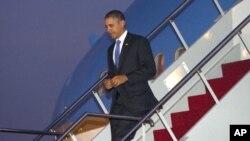 美國總統奧巴馬星期四抵達印尼巴厘島